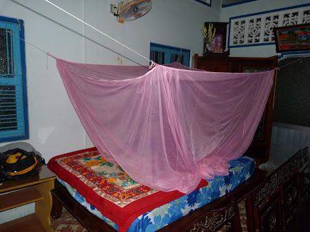 Tur Delta Mekongului: patul meu