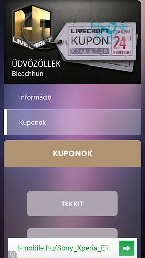 LiveCraft Kupon