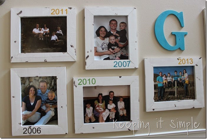 DIY Gallery Wall With Old Family Pictures (20)