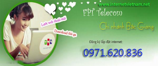 Lắp Đặt Internet FPT Tại Bắc Giang