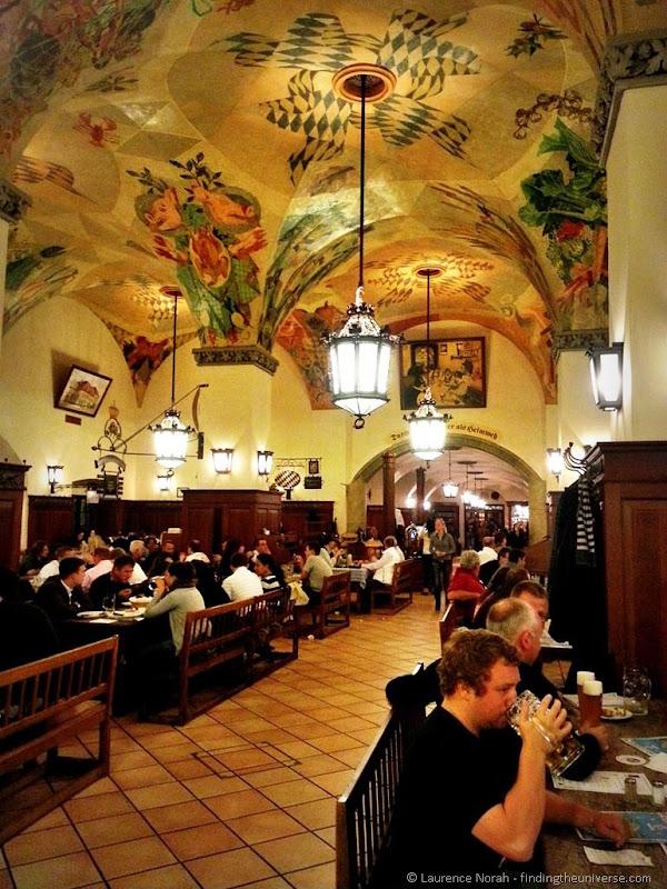 Munich beer hall