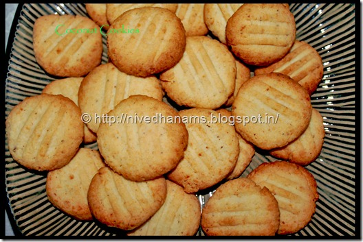 Coconut Cookies - IMG_0423