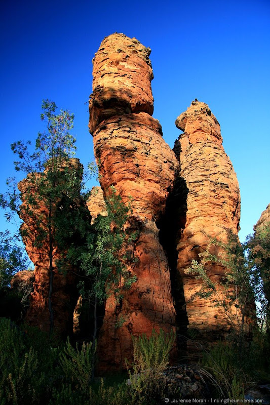 Lost city rock formation in Limmen National Park Australia