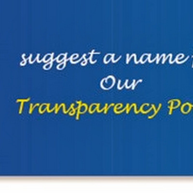 """Suggest a Name"" for Gas Transparency Portal–Contest"