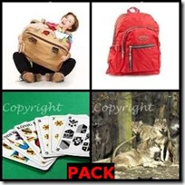 PACK- 4 Pics 1 Word Answers 3 Letters