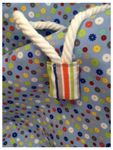 drawstring toy bag tutorial