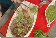 Brodo di carne lesso e salsa verde