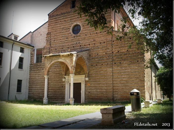 La chiesa di Santa Maria della Consolazione, foto1, Ferrara, Emilia Romagna, Italia - The church of St. Mary of Consolation, photo1, Ferrara, Emilia Romagna, Italy - Property and Copyrights of FEdetails.net  (c)