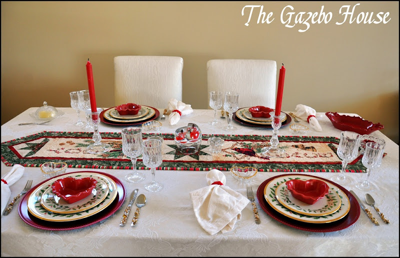 Valentines Day dinner table 012