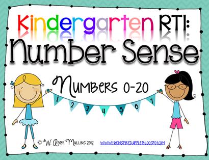 Kindergarten RTI: Number Sense