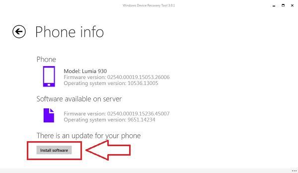 Hướng dẫn dùng Windows Device Recovery Tool về Windows Phone 8.1
