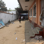 Au siège de l'UDPS Saccagé le 6/9/2011 à Kinshasa. Radio Okapi/ Ph. John Bompengo