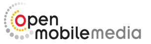 open mobile media logo
