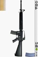 Screenshot of M16 machine-gun