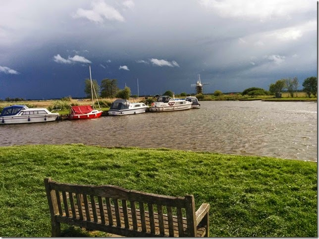 dark sky over thurne mouth