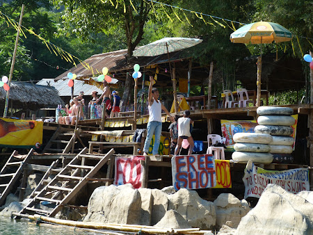 Free shot in Vang Vieng