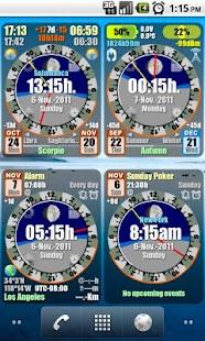 Astro Clock Widget- screenshot thumbnail