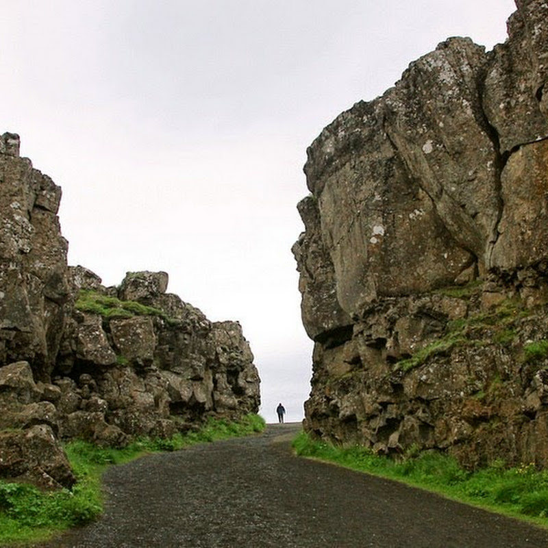The Mid-Atlantic Ridge in Iceland