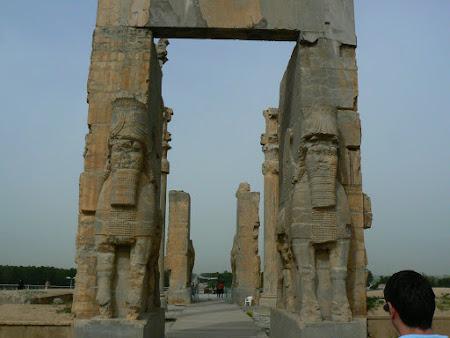 Obiective turistice Iran: Poarta Natiunilor Persepolis
