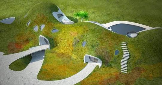 la maison des hobbits l 39 habitat du futur. Black Bedroom Furniture Sets. Home Design Ideas