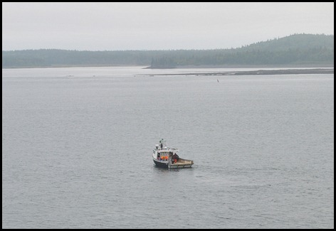 15e - View of Lobster Boat from the Deck