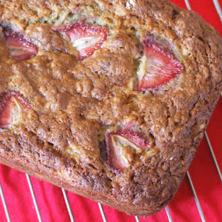Strawberry- Oatmeal Banana Bread