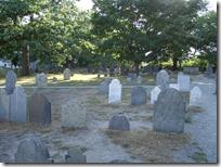 一个古老的墓地