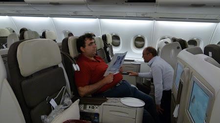 A380: Business Class Air France