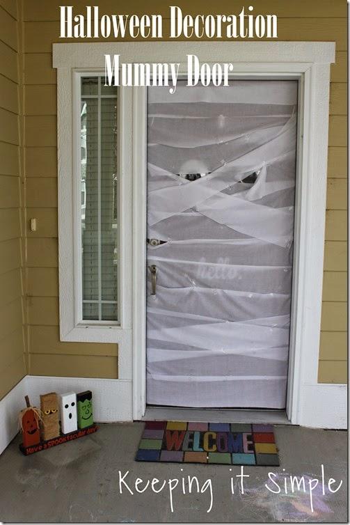 Halloween Decoration Mummy Door