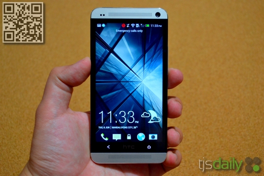 HTC One Review Front
