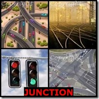JUNCTION- 4 Pics 1 Word Answers 3 Letters