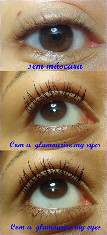 banner glamourise my eyes
