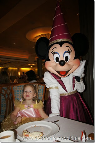 55 Reasons you will LOVE a Disney Cruise - princess tea party (free!)