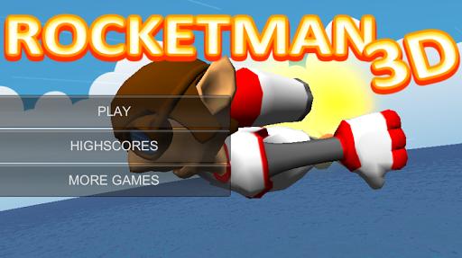 Rocketman 3D Jetpack