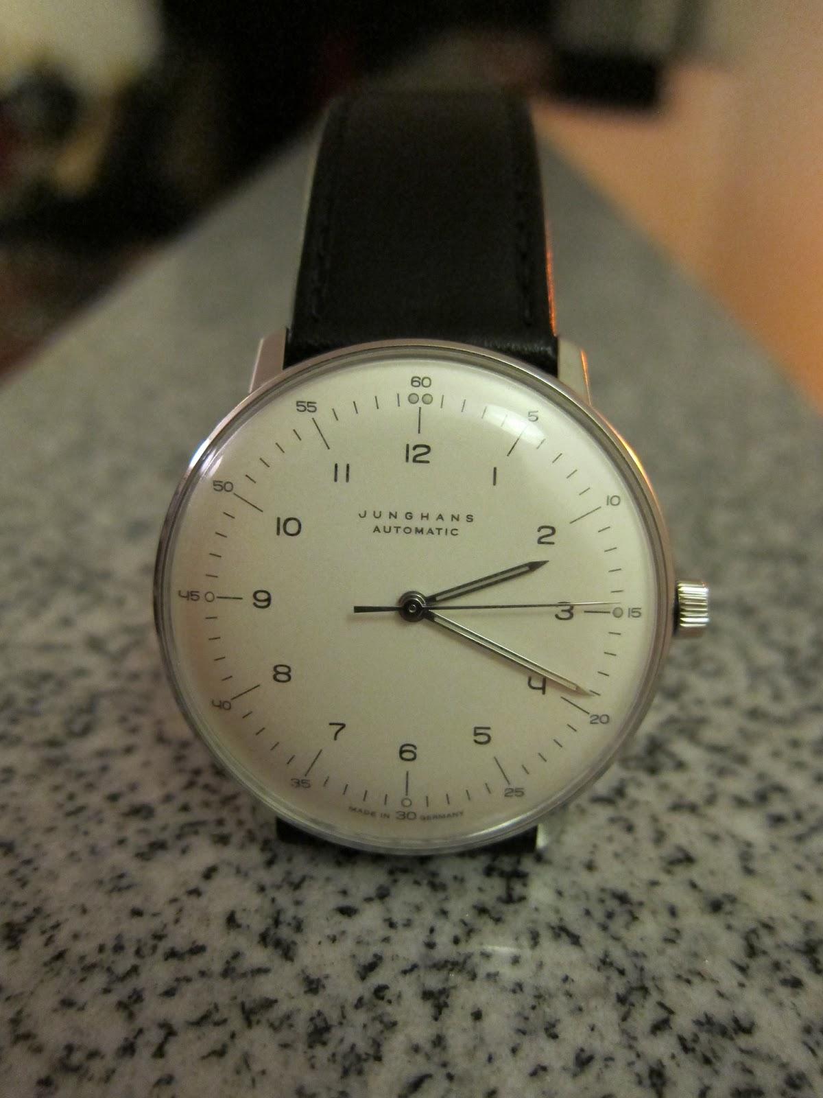 a short guide the original max bill junghans watch design from 1962. Black Bedroom Furniture Sets. Home Design Ideas