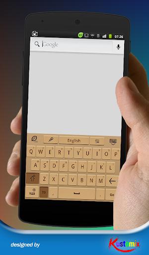 【免費個人化App】Kx Brown Keyboard-APP點子