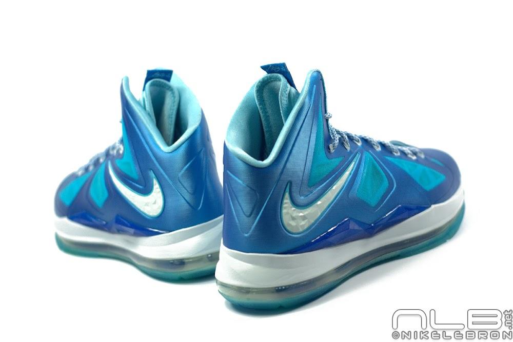 premium selection d92c5 69882 ... The Showcase Nike LeBron X Sport Pack 8220Blue Diamond8221 ...