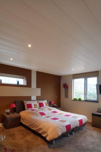 Falsos techos de aluminio en habitaciones