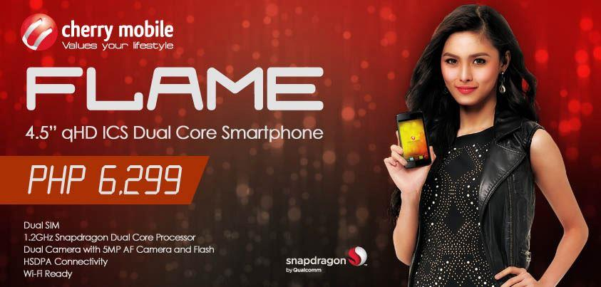 cherry mobile flame specs and price in the philippines