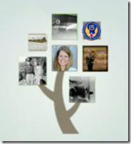 照片覆盖盒在Familysearch徽标
