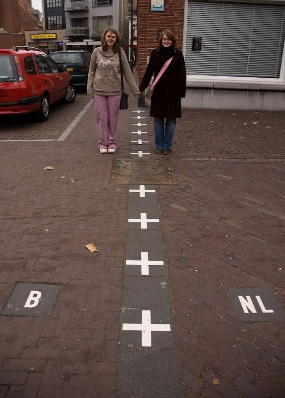 الحدود الفاصلة بين هولندا بلجيكا كما لم تشاهدها من قبل