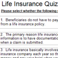 TEST YOUR LIFE INSURANCE LITERACY