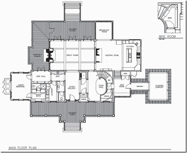 Photo: courtesy of Historical Concepts. floor plan spring island SC