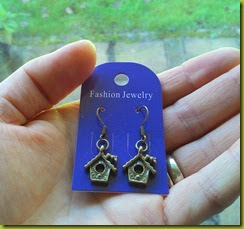 Pretty Cute Jewellery bird house earrings