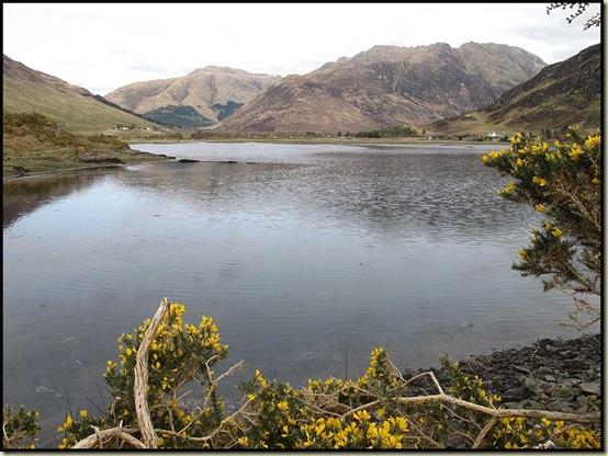 A' Ghlas-bheinn and Beinn Fhada from Loch Duich