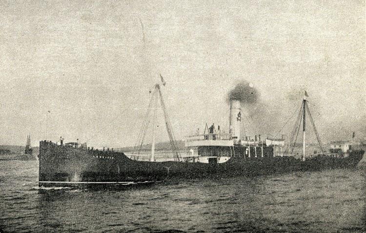 Vapor LEKEITIO. Foto de la revista El Mundo Naval Ilustrado. Año 1900.JPG