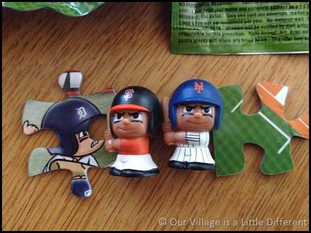 TeenyMates Baseball Figures