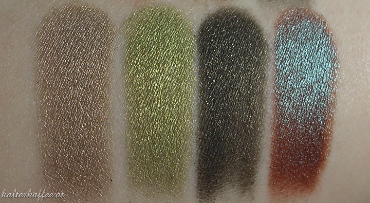 Wet'n Wild Comfort Zone swatches