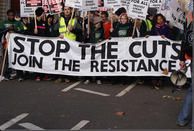 UK strike protests