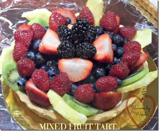Wegmans Mixed fruit tart